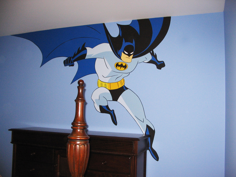 City wall murals quotes for Batman mural wallpaper uk